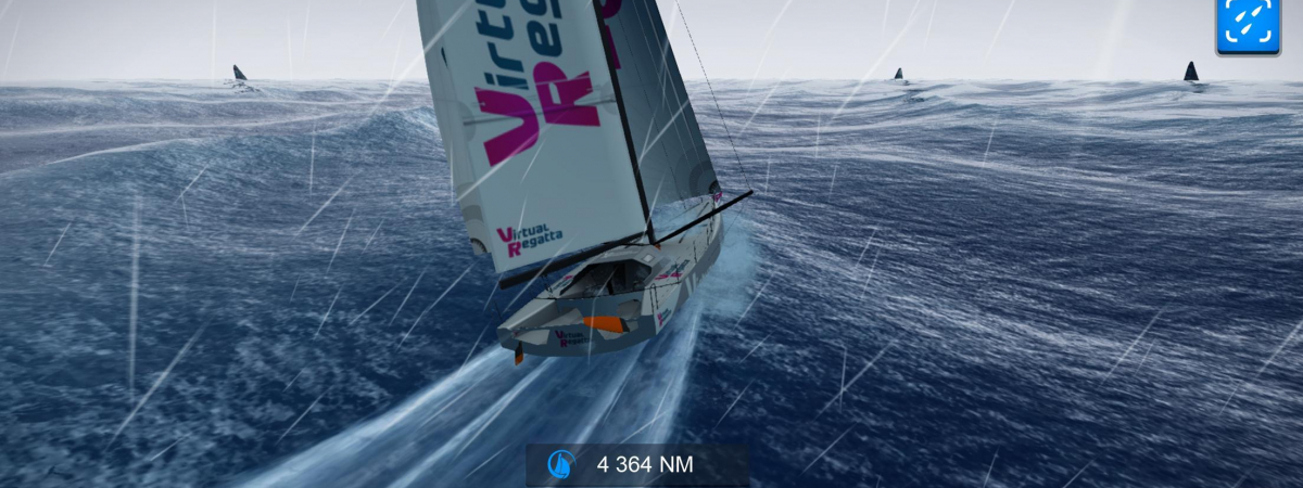 Capture d'écran du jeu Virtual Regatta Offshore